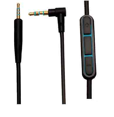 NEW Replacement Audio Cable for Bose QC25 cable quiet comfort Headphone with MIC
