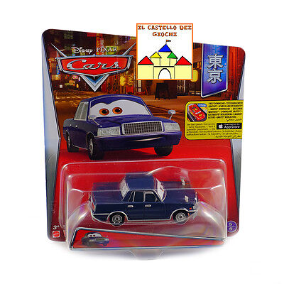 CARS Personaggio JESSE HAULLANDER in Metallo scala 1:55 by Mattel Disney Pixar
