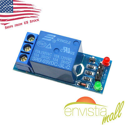 250V/10A 1 Channel Power Relay Module for DIY PIC AVR DSP ARM MCU Arduino US