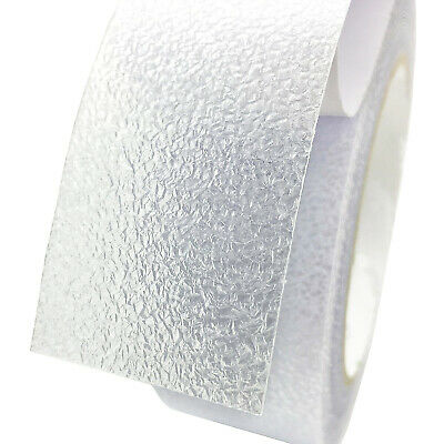 CLEAR SKIN FRIENDLY 100mm x 600mm ANTI SLIP TAPE STAIR TREAD SELF ADHESIVE AQUA