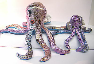Octopus Sand Filled Animal Set Of 2  Sea Creatures CE Stamped Mother's Day Gifts