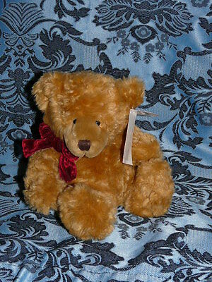 "Bnwt Russ Honey Teddy Bear 7"" Memories Of Love"