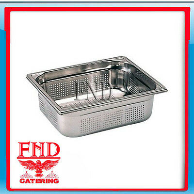 Gastronorm Pan Perforated 1/2 Size  65mm Deep