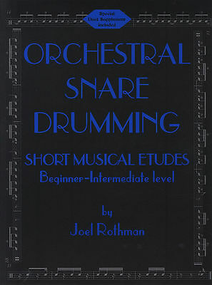ORCHESTRAL SNARE DRUMMING Music Book Plus I AND THOU DUET Music Book - 2 For 1!