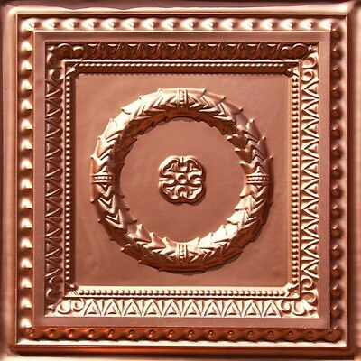 Easy Install PVC Faux Tin Victorian Style Ceiling Tile 24x24 #210