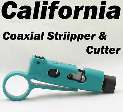 RG59 RG6 Coaxial Cable Wire stripper Cutter Wire Stripping TV Rotary Tool 59 6