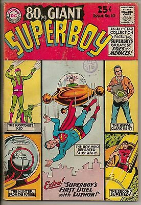 DC Comics 80 Page Giant #10 May 1965 Superboy VG+