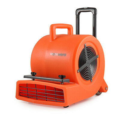 COMMERCIAL INDUSTRIAL CARPET DRYER BLOWER / AIR MOVER 900W 1.2HP Weight 19.5Kg