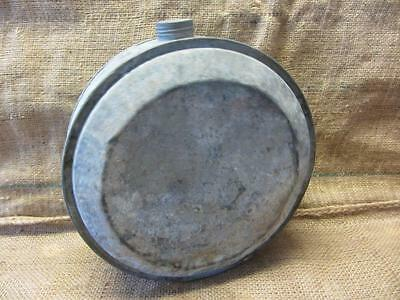 Vintage 1917 Metal Water Canteen Galvanized Can > RARE Antique Old West 9509