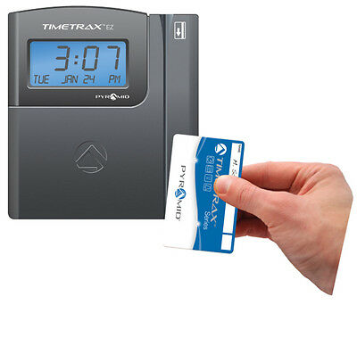 Pyramid Time Systems Pyramid TimeTrax EZ Swipe Card Time Clock System TTEZ NEW