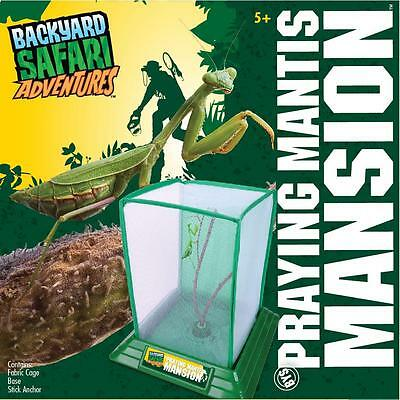 Backyard Safari Praying Mantis Mansion, Educational set for Ages 5+, 0T2480304TL
