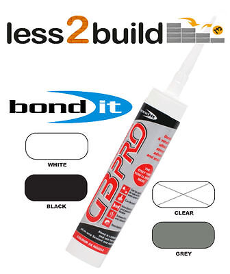 4 X Black Bond It Gb Pro Superior Bond Hybrid Polymer Solvent Free Sealant Sales Of Quality Assurance Glues, Epoxies & Cements Business & Industrial