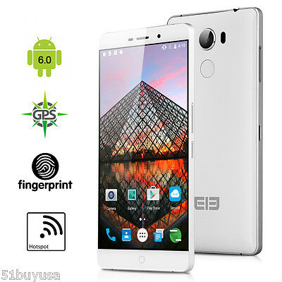 "5.5"" Elephone P9000 Android 6.0 Octa Core 2.0GHz 4GB+32GB 4G LTE Móvil 13MP NFC"