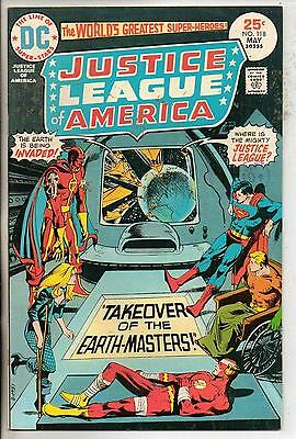 DC Comics Justice League Of America #118 May 1975 VF+