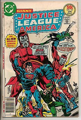 DC Comics Justice League Of America #141 April 1977 Giant Size Very Rare VF