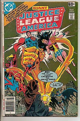 DC Comics Justice League Of America #152 March 1978 Giant Size F+