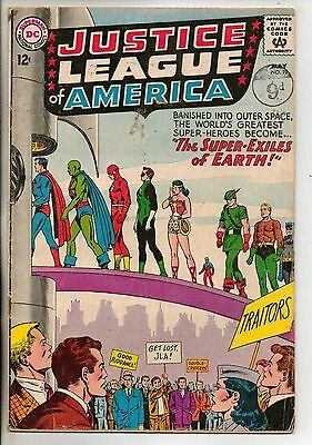 DC Comics Justice League Of America #19 May 1963 VG
