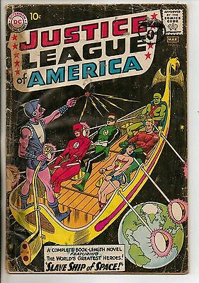 DC Comics Justice League Of America #3 March 1961 1st Kanjar Ro G