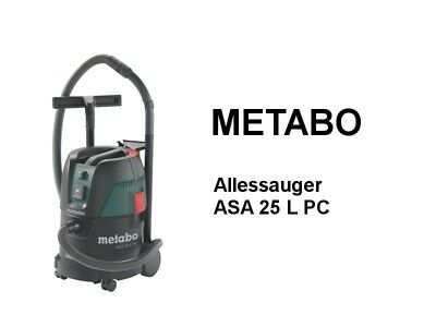 METABO Allessauger ASA 25 L PC - Industriestaubsauger
