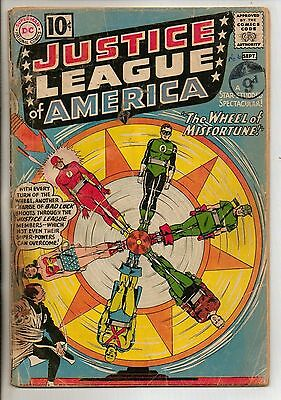DC Comics Justice League Of America #6 September 1961 1st Amos Fortune G