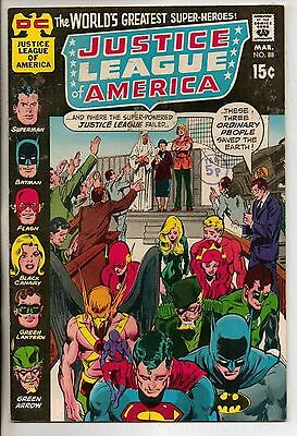 DC Comics Justice League Of America #88 March 1971 Neal Adams Cover Scarce VF
