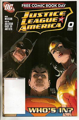 DC Comics Justice League Of America Vol 4 #0 FCBD Edition NM-