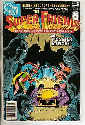 DC Comics Super Friends #10 March 1978 F