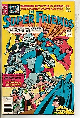 DC Comics Super Friends #2 December 1976 The Penguin Scarce VF+