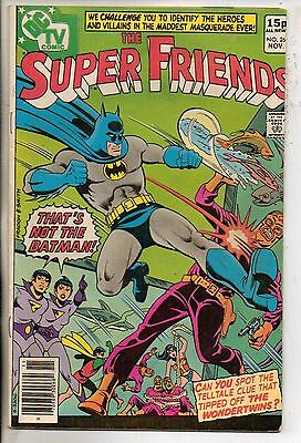 DC Comics Super Friends #26 November 1979 F
