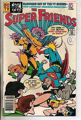 DC Comics Super Friends #3 February 1977 Scarce VF