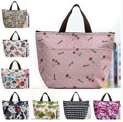 New Insulated Lunch Bag Cooler Travel Outdoor Picnic Box Container Tote