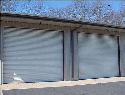 12x10 DBCI Commercial 2750 Series RollUp Door w/Hardware & Chain Hoist Insulated