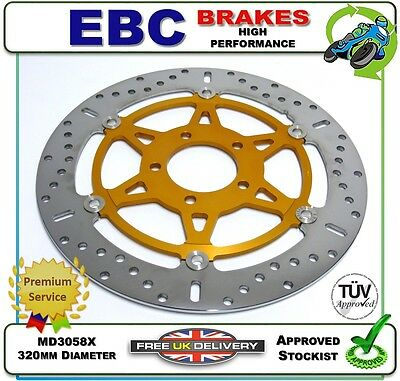 new ebc front brake disc rotor md3058x 320mm suzuki gsxr1000 gsxr 1000 k1 01 picclick uk. Black Bedroom Furniture Sets. Home Design Ideas