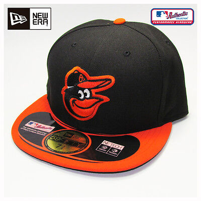 Baltimore Orioles MLB Authentic Collection New Era Road On-Field Cap Hat