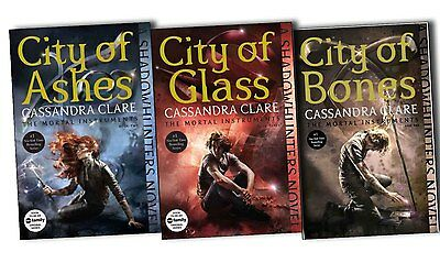 The Mortal Instruments Collection Cassandra Clare City Of Ashes, Bones and Glase