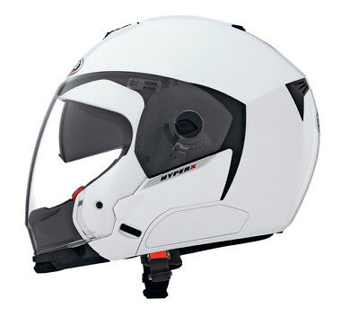 Caberg Hyper X Full / Open Face White Motorcycle Scooter Cruiser Helmet