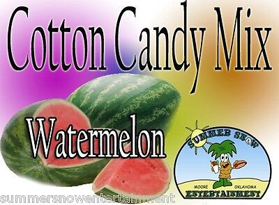 WATERMELON COTTON CANDY FLAVOR mix w/ SUGAR FLAVORING FLOSSINE FLAVOR #1