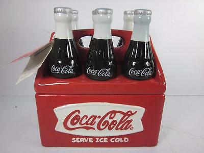 Coca-Cola Six Pack Ceramic Cookie Jar by Houston Harvest Gift Products LLC