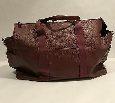 Large TOTO bag Burgundy Wine Red *NEW*