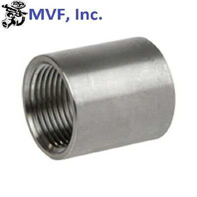 """Coupling 1/8"""" Npt 150# 304 Stainless Steel Brewing Pipe Fitting  721.wh"""