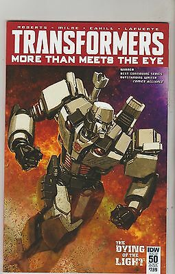 Idw Comics Transformers More Than Meets The Eye #50 March 2016 Subs B Variant Nm