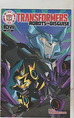 Idw Comics Transformers Robots In Disguise #6 January 2016 1St Print Nm