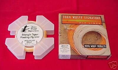 Royal Wulff Triangle Taper Fly Line Olive #7 GREAT NEW