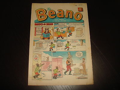 THE BEANO #1376    November 30th 1968   British UK Comic
