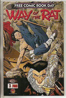 CGE Comics Way Of The Rat #1 June 2003 Free Comic Book Day Edition NM-