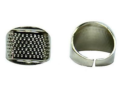 3pcs Size Ring Adjustable Tools Thimble  Handworking Craft Protector Sewing