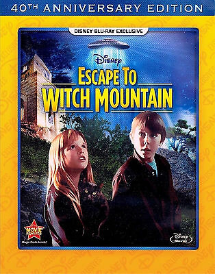 40th Anniversary Edition Classic Disney Film Escape To Witch Mountain on Blu-ray