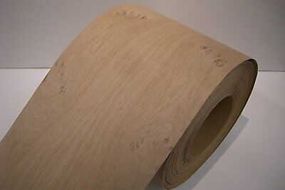 Real wood Veneer Knotty oak with Hot melt adhesive iron-on 30 cm Wide
