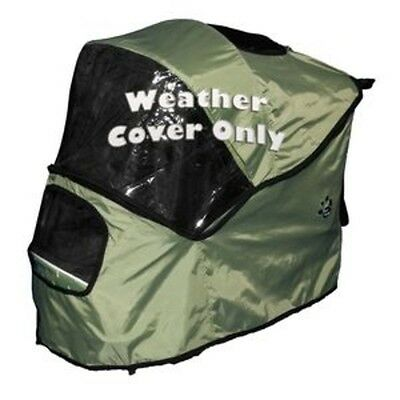Weather Cover for Special Edition Pet Stroller-Sage