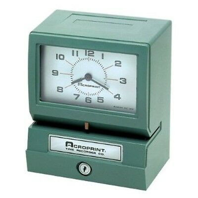 Acroprint Electric Print, Heavy-Duty, Standard Time Recorder-150Nr4 01-2070-411